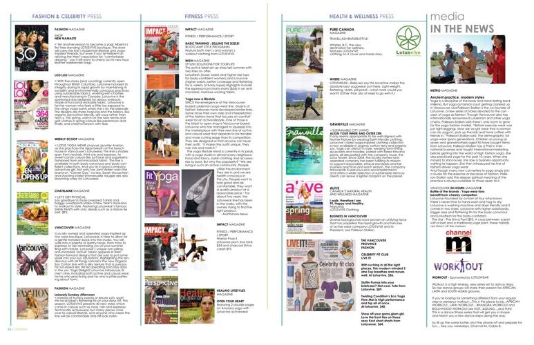 Lotusvive Press Page