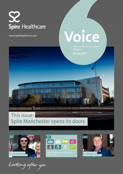Spire Healthcare - Voice Newsletter, Spring 2017