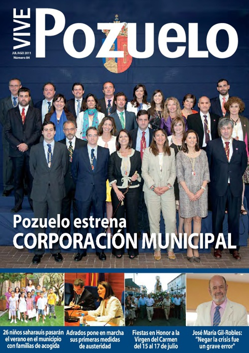 Revista Municipal de julio y agosto de 2011