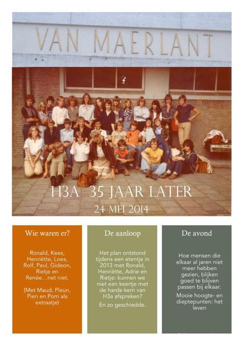 H3a 35 jaar later