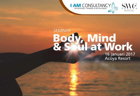 Seminar Body Mind & Soul at Work