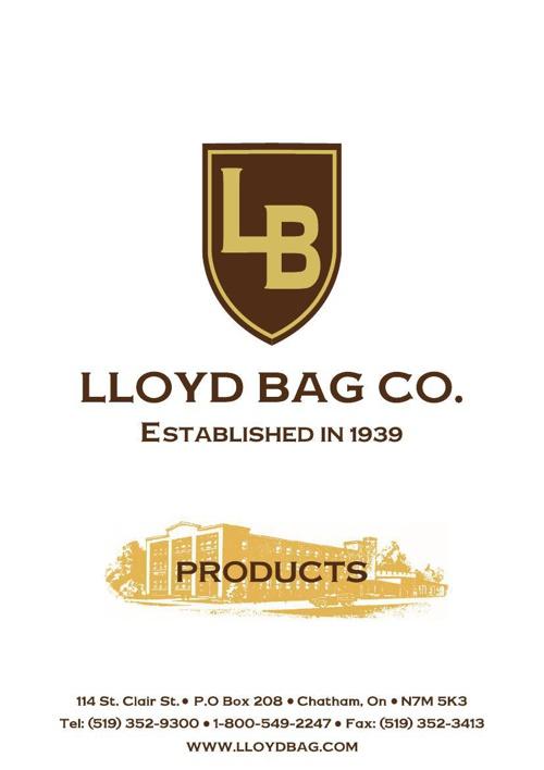 Lloyd Bag