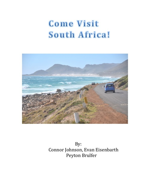 South Africa English Project
