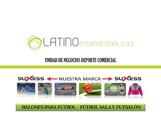 CATALOGO BALONES  SUXESS