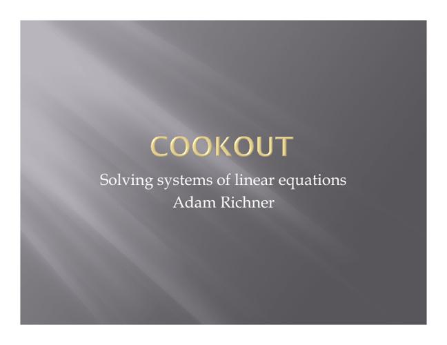 Adam Richner