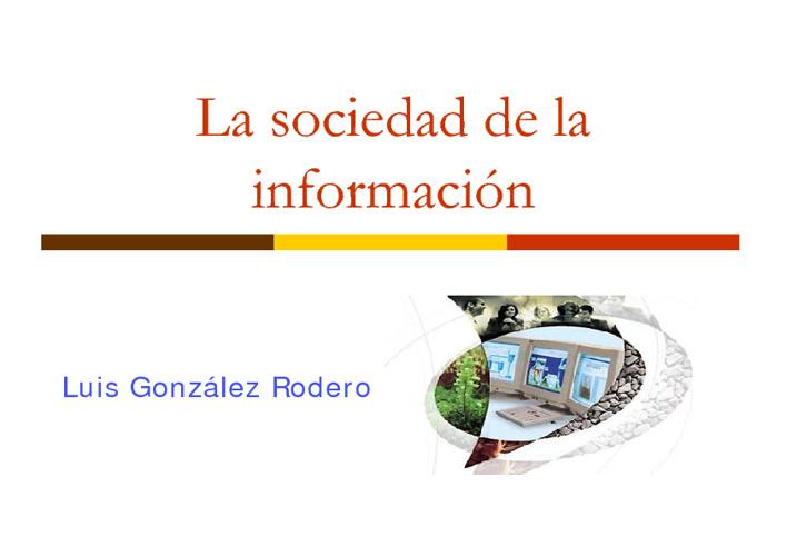 Sociedad información