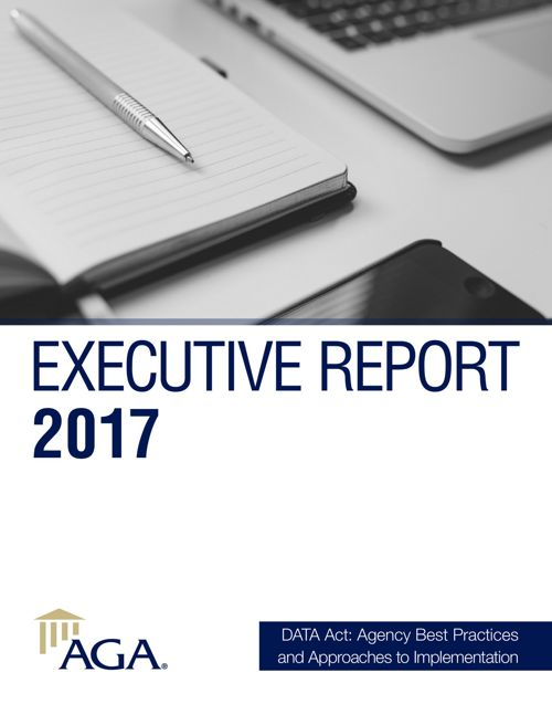 DATA Act | AGA Executive Report 2017