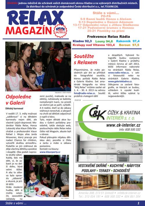 RELAX MAGAZÍN 04/2013