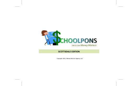 Scottsdale Edition Schoolpons