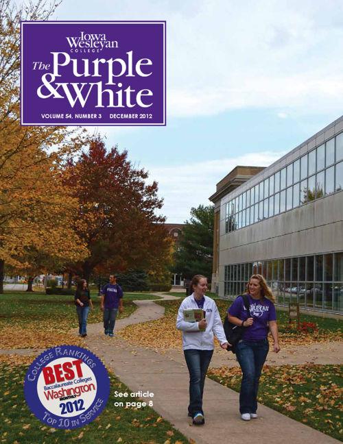 Purple and White Dec 2012