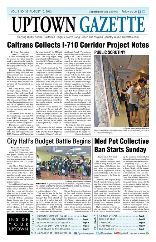 Uptown Gazette  |  August 10, 2012