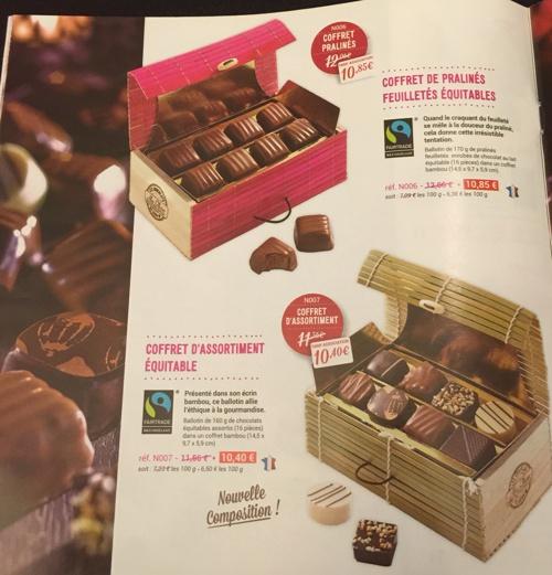 Catalogue Chocolat noel 2014