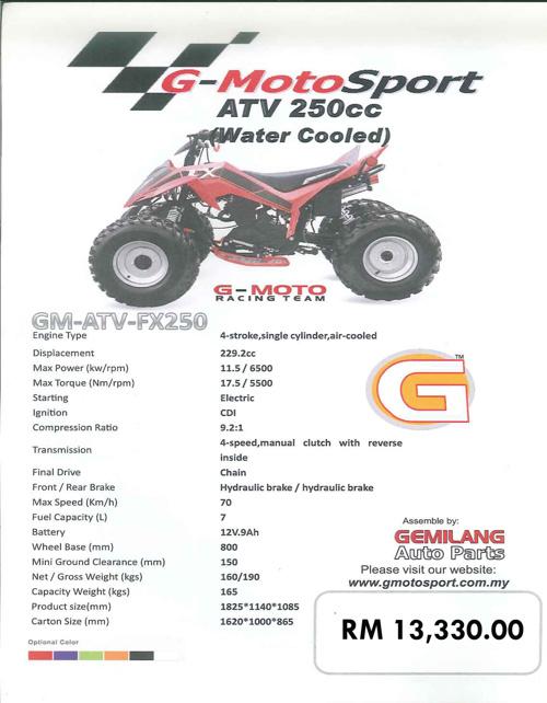 ATV Catalog