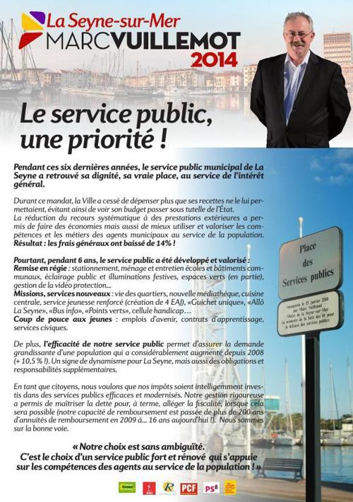Tract - Les services publics