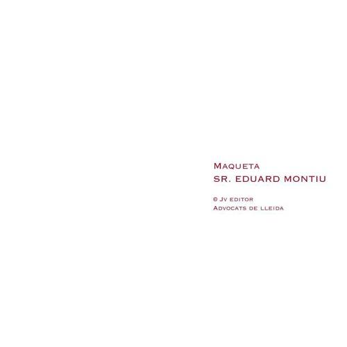Sr. Eduard Montiu