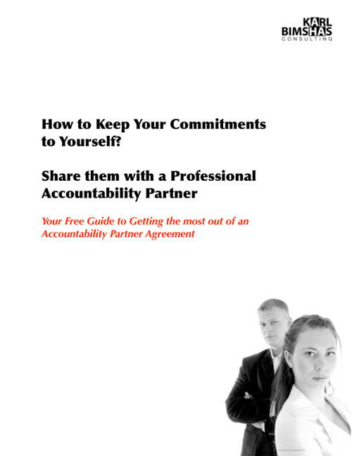 Accountability Partner Awareness Guide