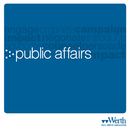 Werth – Public Affairs