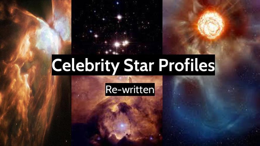 Celebrity Star Profiles