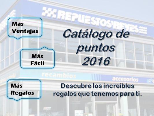 Catálogo de puntos Reyes Club 2016