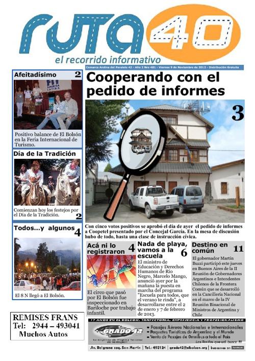 Diario 9 de Noviembre de 2012