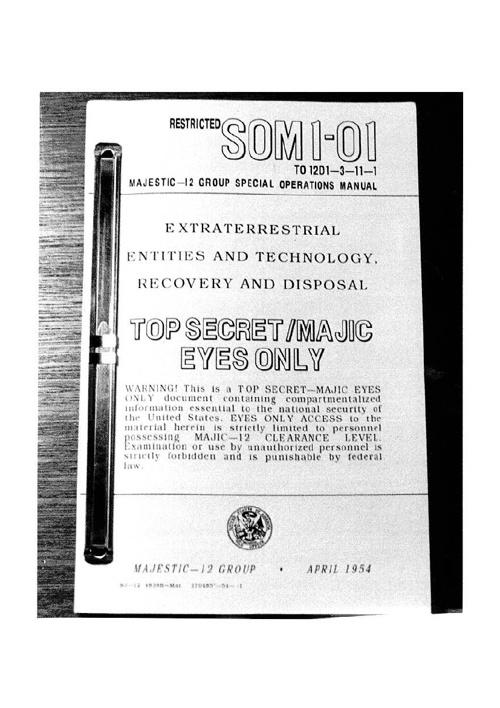 SOM1-01 Special Operations Manual - 1954