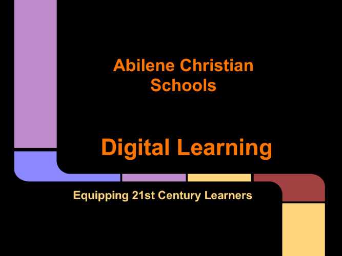 Digital Learning Presentation