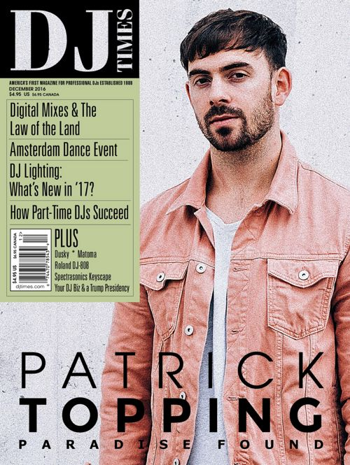 Dusky DJ Times Magazine December 2016 Issue