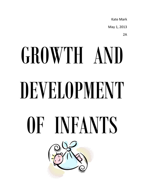 title page- growth and dvlpment