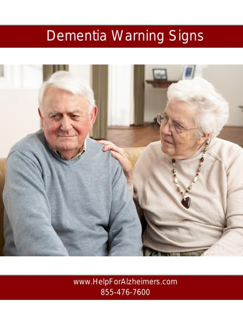Dementia Warning Signs ebook