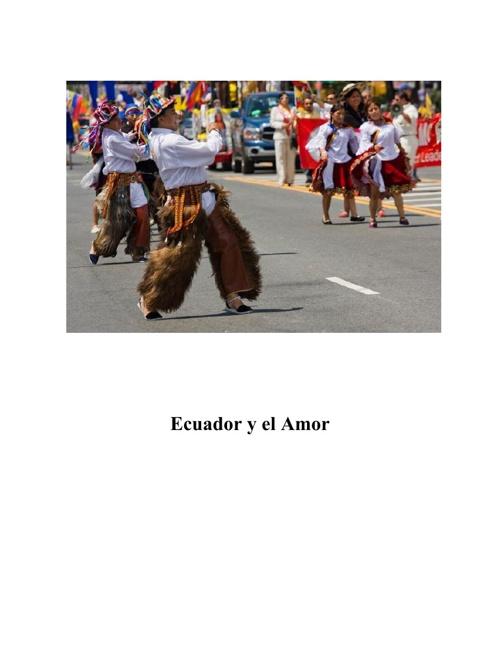 Ecuador y el Amor
