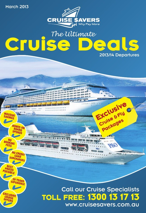The Ultimate Cruise Deals - March