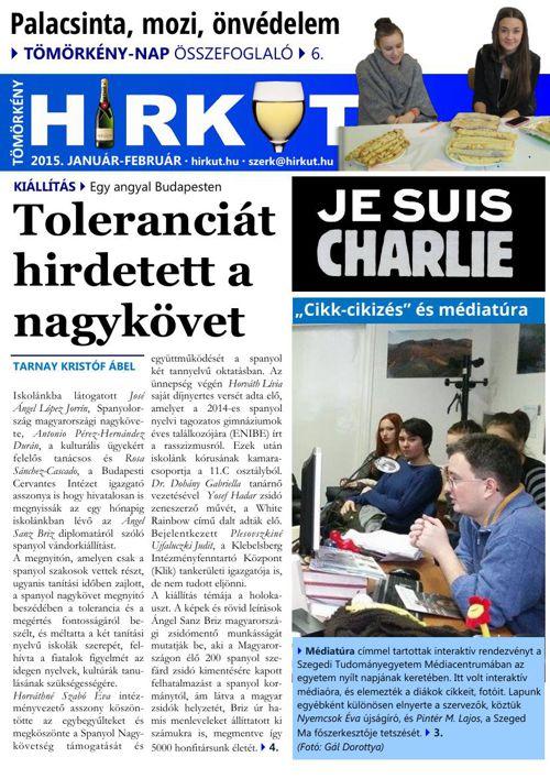 Tömörkény Hírkút újság 2015. január-február