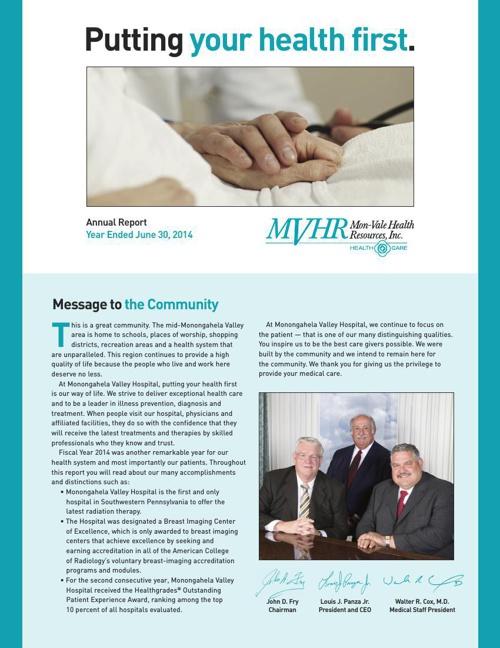 MVH 2014 Annual Report