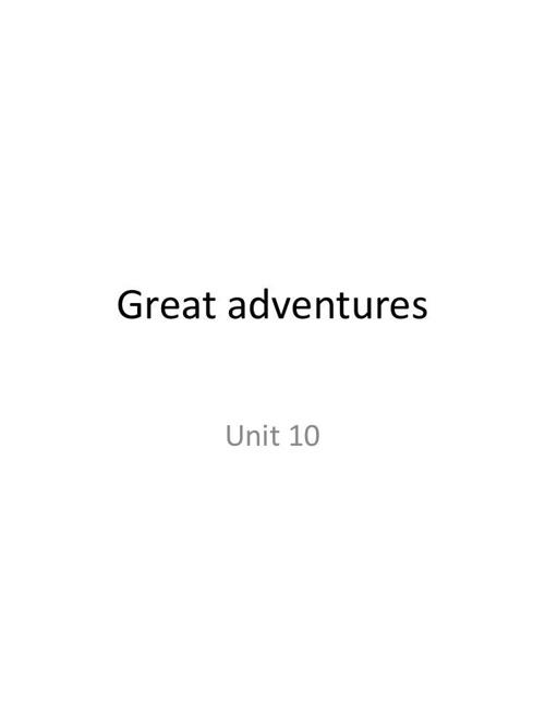 Unit 10 ing 104 summer 2014