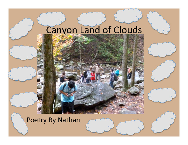 Canyon Land of Clouds