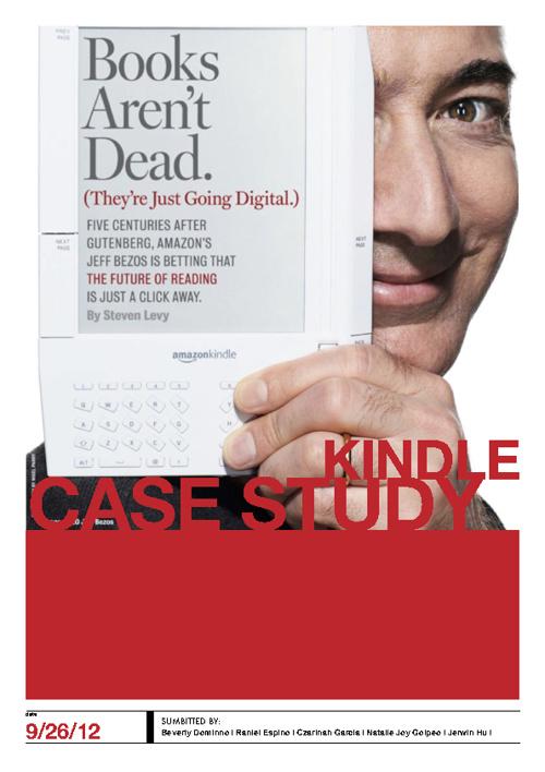 Amazon Kindle Case Study