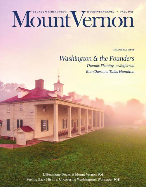 Mount Vernon Magazine - Fall 2015