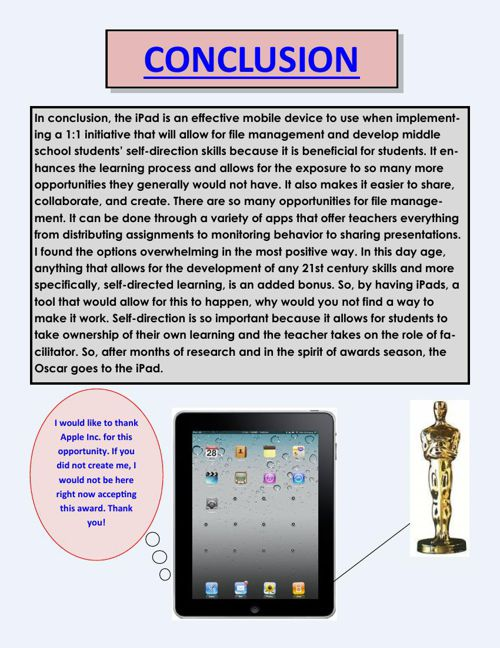IPad Research Paper
