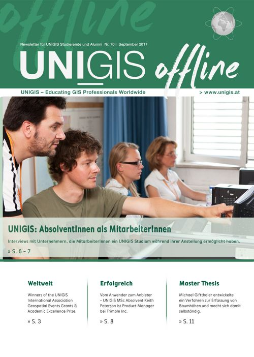 UNIGIS offline Nr. 70 | September 2017