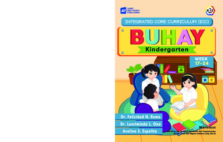 Integrated Core Curriculum BUHAY Kindergarten Week  17-24