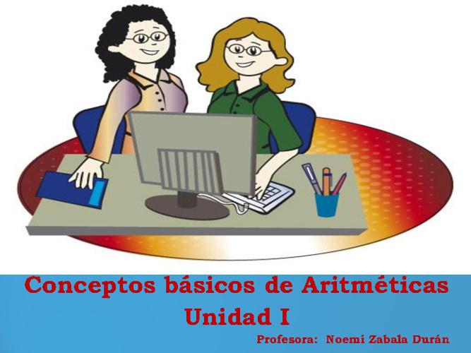conceptos basicos de aritmeticas