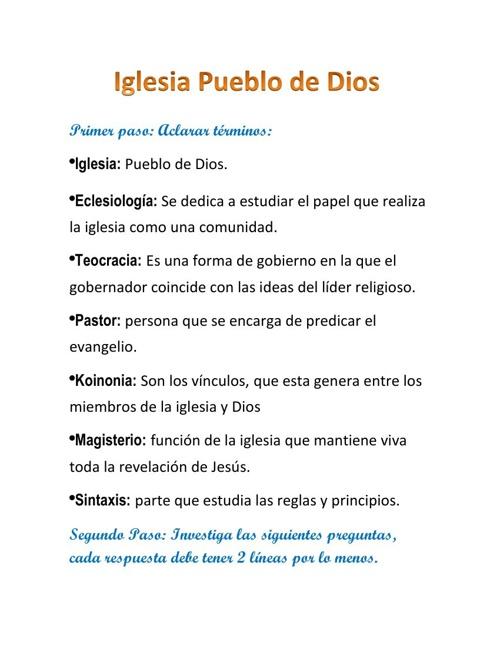 Iglesia, Pueblo de Dios