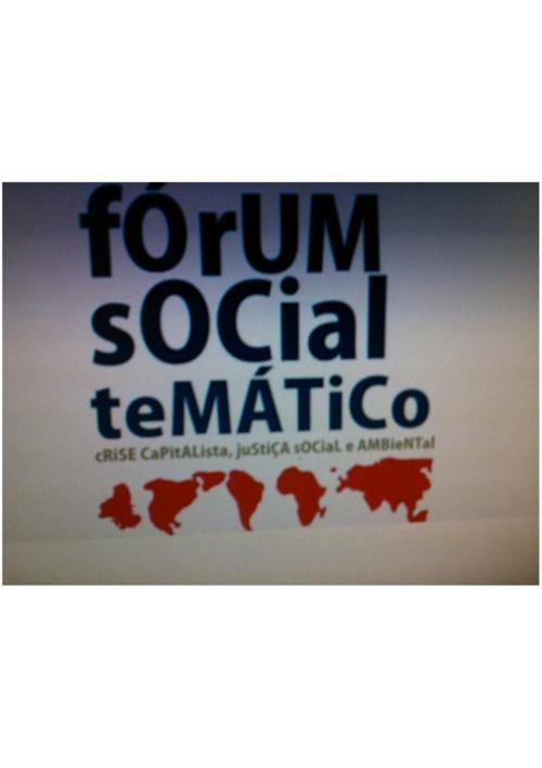 Copy (2) of Fórum Social Temático
