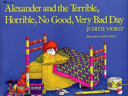 alexander and the terrible horrible no good very bad day español