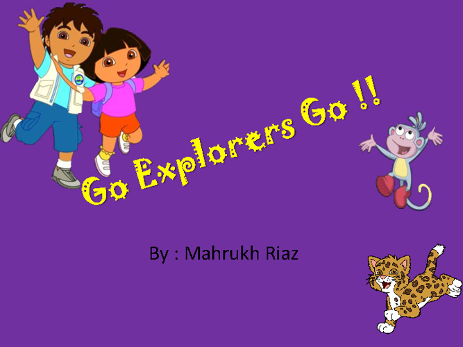 Mahrukh's Cartoon Animation