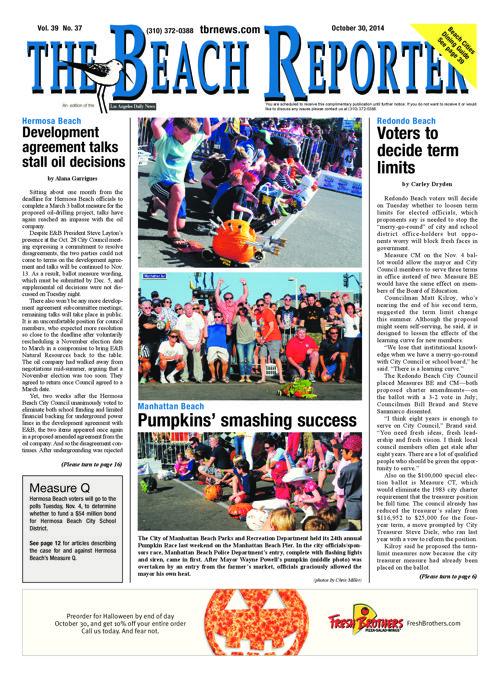 The Beach Reporter | 10-30-14