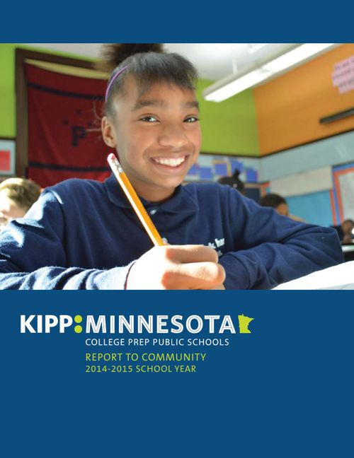 KIPP Minnesota 2014-2015 Annual Report