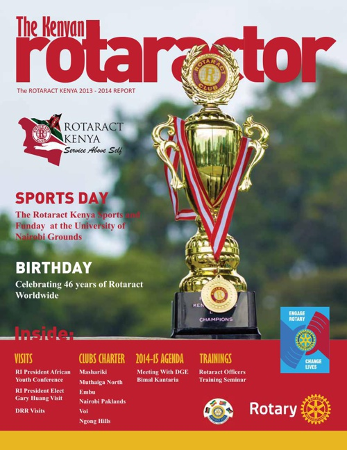 ROTARACT KENYA 2013/14 ANNUAL REPORT