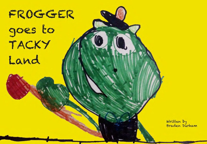 Frogger goes to Tacky Land!!!