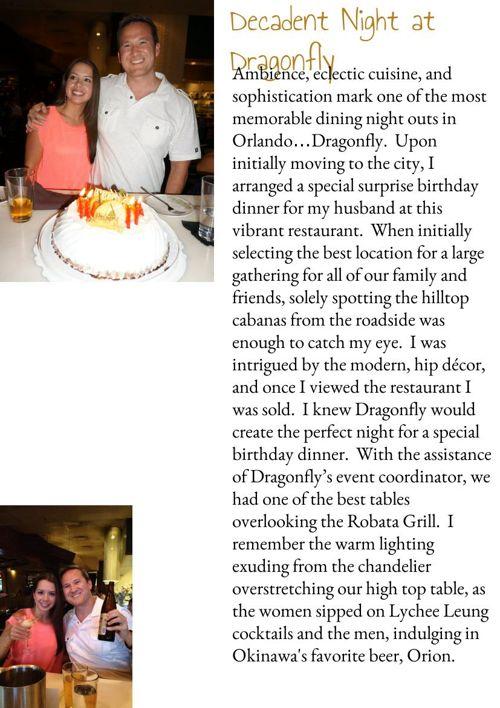 Decadent Night at Dragonfly